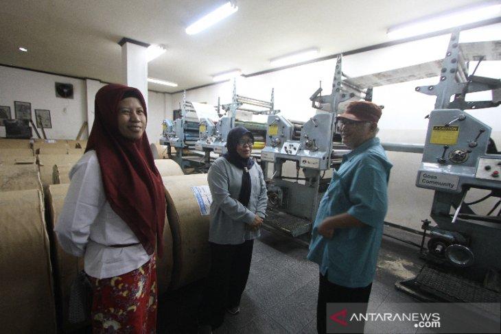 Perum LKBN Antara Biro Kalsel Berkunjung ke SKH Kalimantan Post