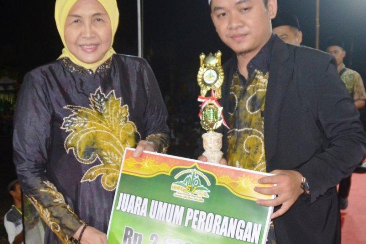M Jabir juara umum perorangan MTQ Anjir Muara