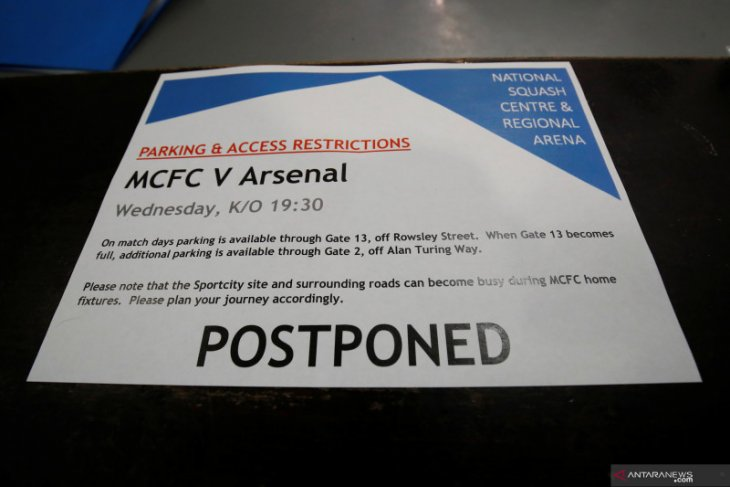 Pertandingan leg kedua Manchester City vs Real Madrid ditunda