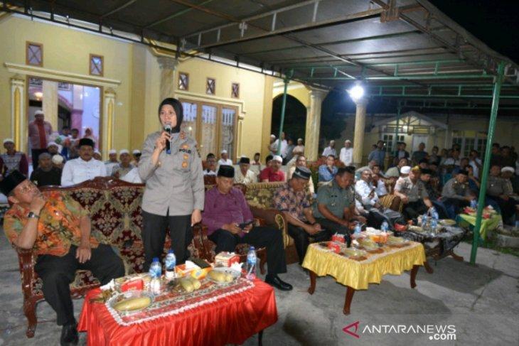 Kapolres Padangsidimpuan ajak masyarakat usir pengedar Narkoba di Kampung Darek