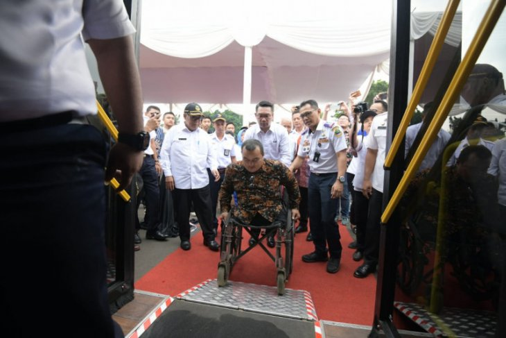 Pemprov Jawa Barat siapkan layanan bus ramah penyandang disabilitas
