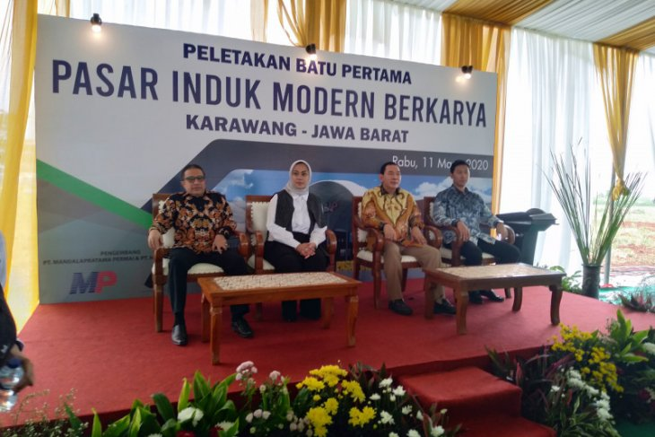 Pedagang Pasar Cibitung dan Tangerang akan pindah ke Pasar Induk Modern Cikampek