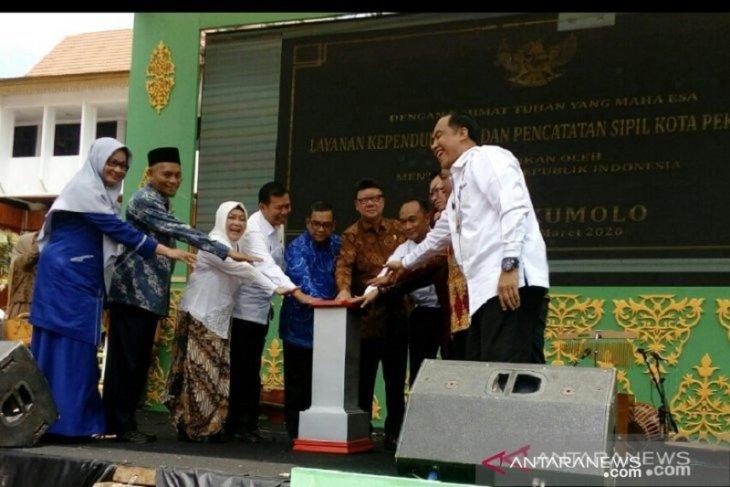 Menpan RB Tjahjo Kumolo minta MPP Pekanbaru terintegrasi dengan layanan SIM