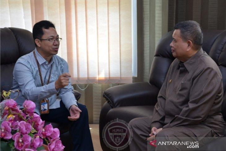 BI perkenalkan sistem transaksi nontunai QRIS ke pemprov Gorontalo