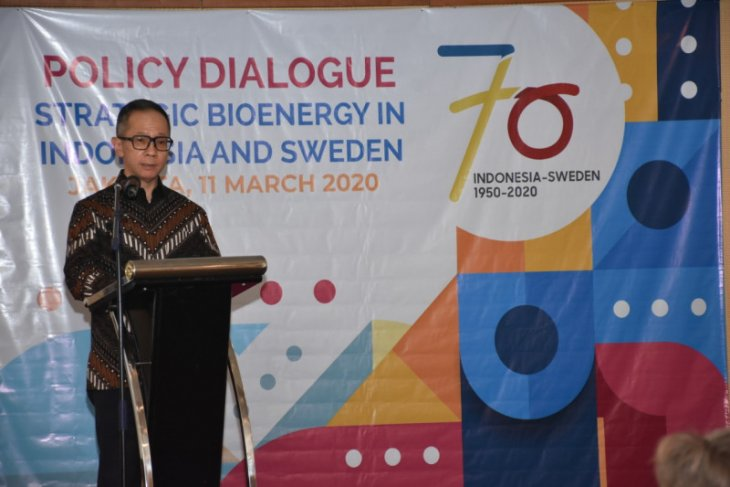 Indonesia, Sweden to cooperate in sustainable bioenergy development