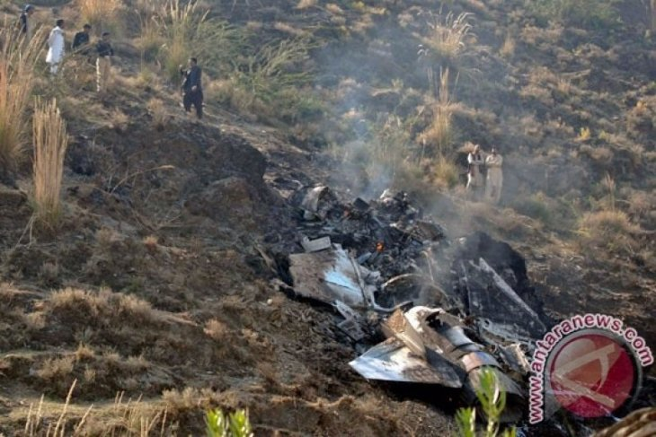 Jet tempur F-16 Pakistan jatuh di Ibu Kota