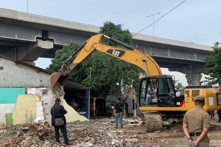 Proses eksekusi lahan Depo LRT Bekasi berjalan lancar