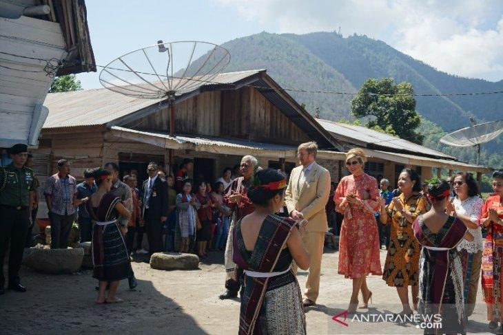 Raja dan Ratu Belanda kunjungi kawasan Ecovillage Silimalombu