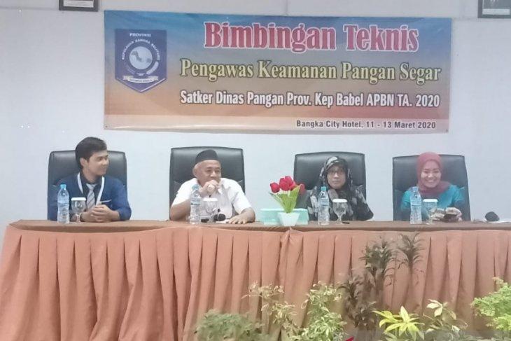 Dinas Pangan Bangka Belitung temukan makanan kemasan impor ilegal