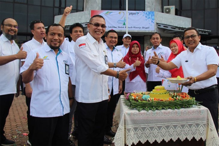 PTPN VII Apel HUT Ke-24 Bersama PTPN Holding