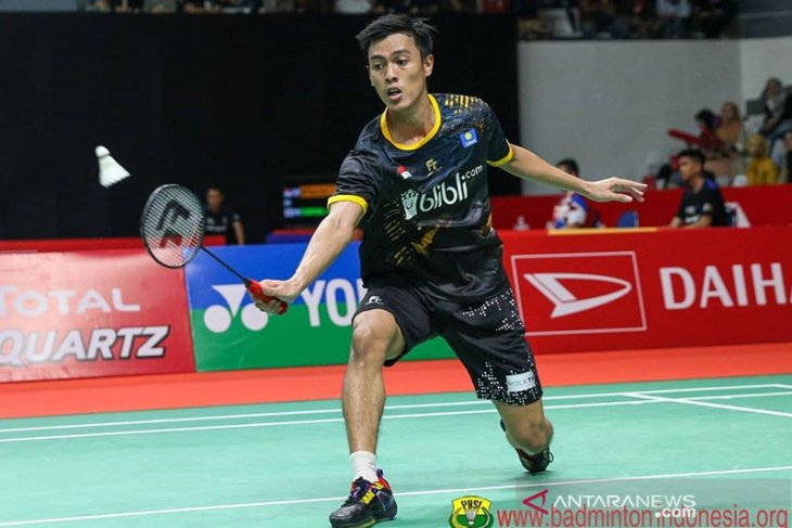 Indonesia unggul 3-2 atas Taiwan di Piala Thomas