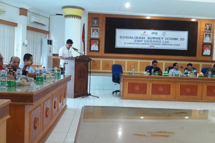 EMP Gebang Ltd lakukan sosialisasi Survey Seismik cari cadangan minyak baru