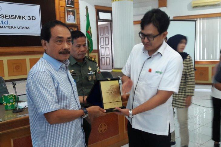 Pemkab Langkat dukung sosialisasi survey seismik 3D EMP Gebang Ltd