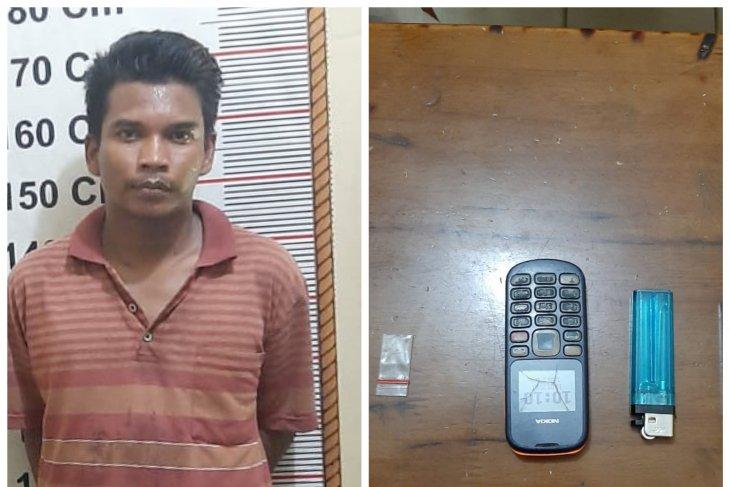 Polisi Hinai Langkat tangkap warga Tanjung Pura miliki sabu-sabu