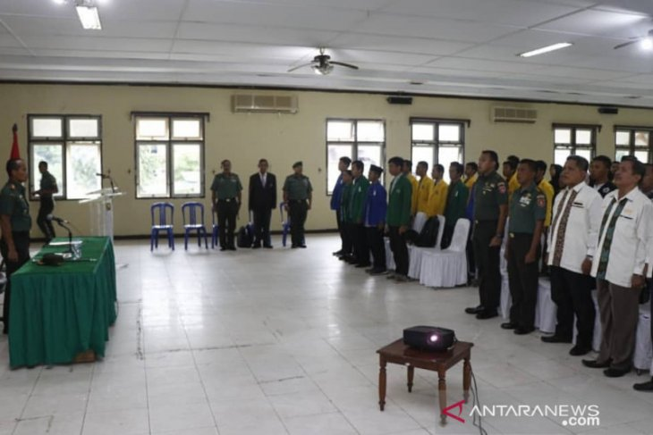 Korem 101/Antasari bangkitkan semangat nasionalisme pemuda tangkal radikalisme