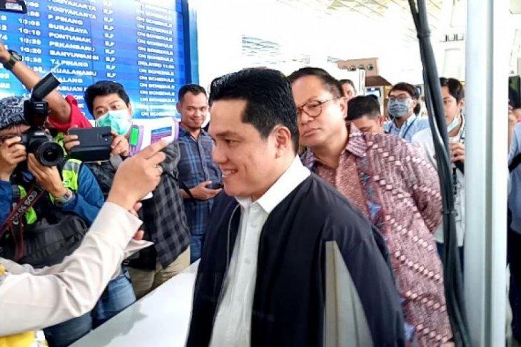Menteri BUMN: Berikan masker kepada yang lebih membutuhkan