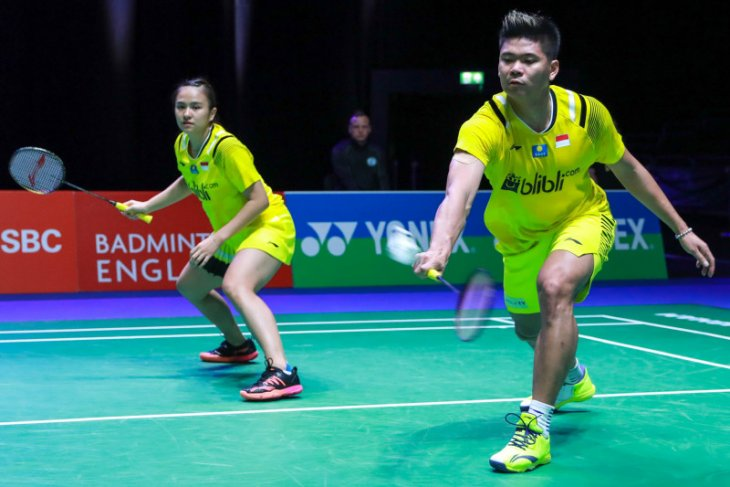 Empat wakil Indonesia lolos perempat final All England 2020