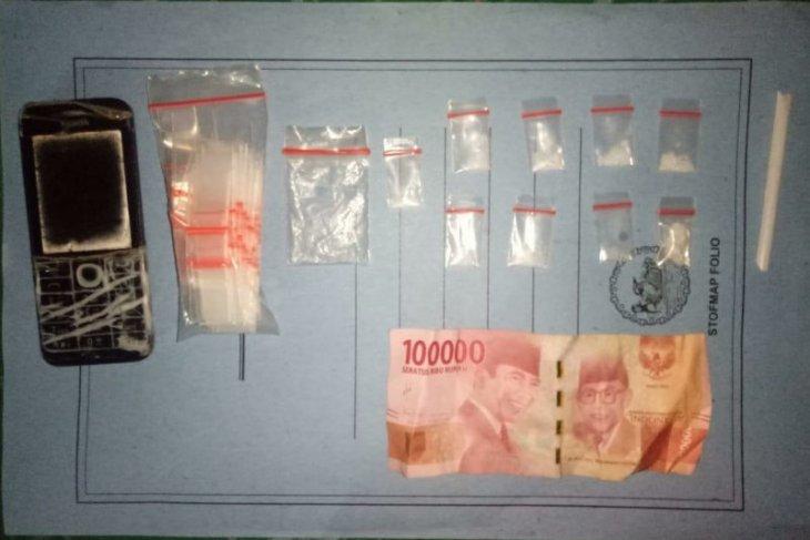 Polsek Perdagangan amankan residivis narkoba miliki sabu