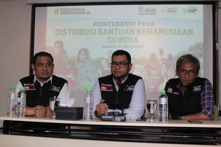 Penjelasan ACT terkait bantuan masyarakat Indonesia ke India