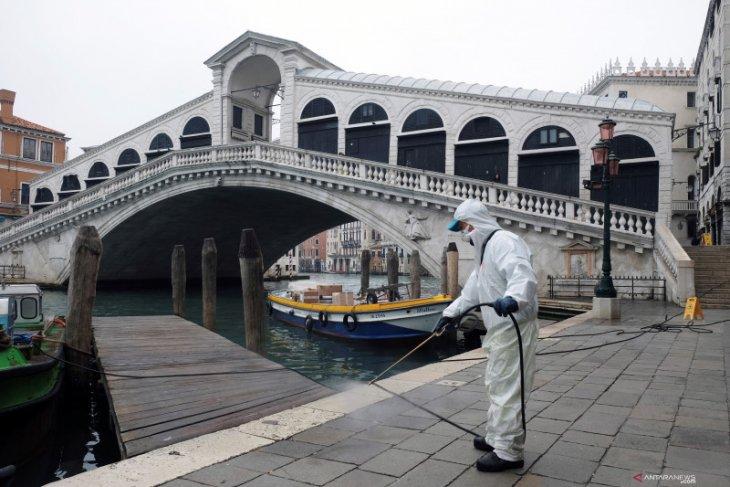 Korban meninggal akibat wabah virus corona di Italia mencapai 1.441