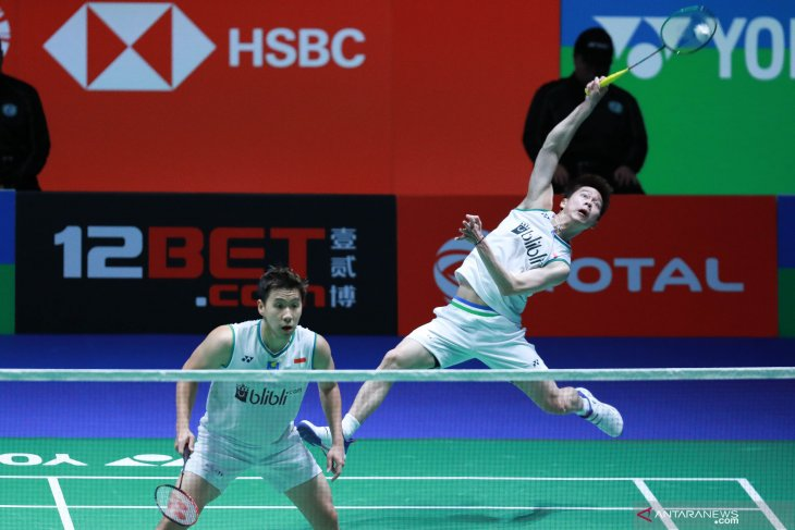 Butuh 35 menit, Kevin/Marcus lolos ke final All England 2020