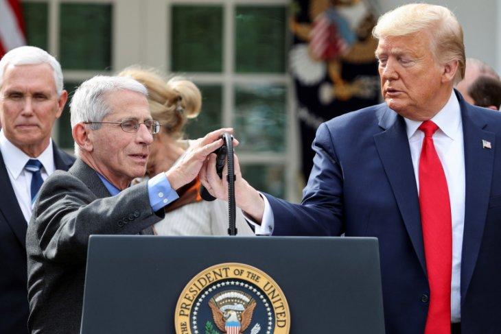 Presiden Trump sebut lebih dari sejuta warga Amerika jalani tes corona