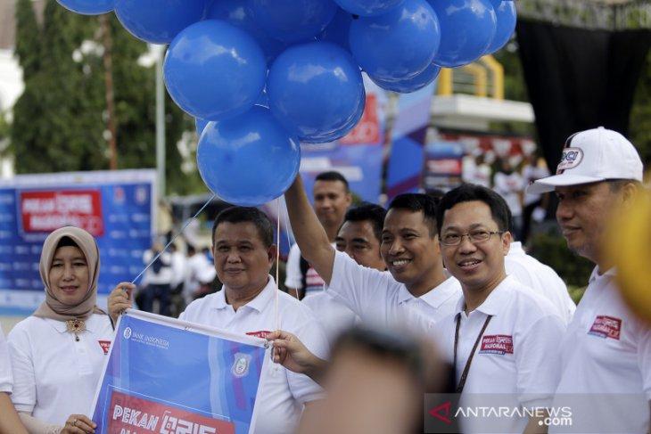 Ribuan warga Gorontalo meriahkan pekan QRIS