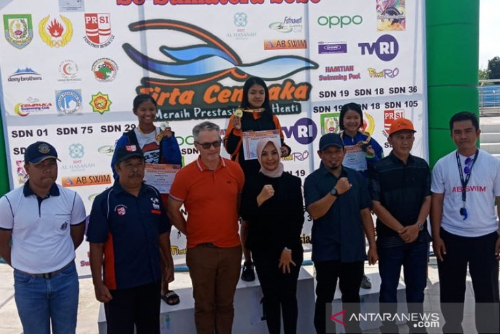 415 atlet ikuti kejuaraan renang se-Sumatera di Bengkulu