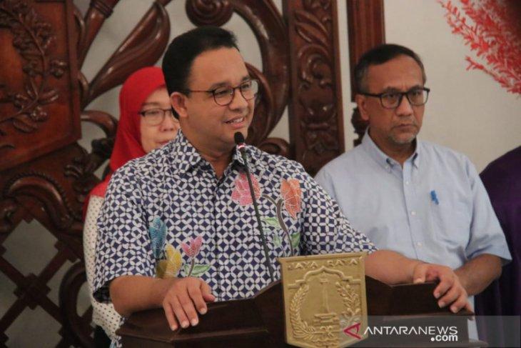 Gubernur DKI Jakarta Anies Baswedan minta warga Jakarta tunda resepsi pernikahan