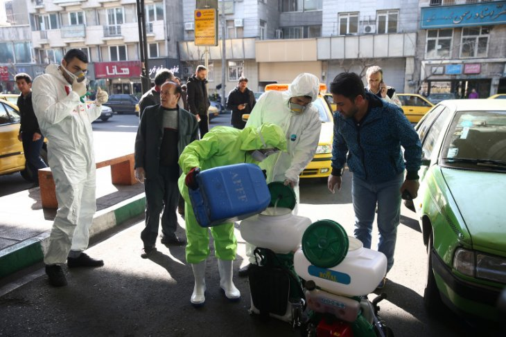Dalam 24 jam, 113 orang di Iran  meninggal akibat corona