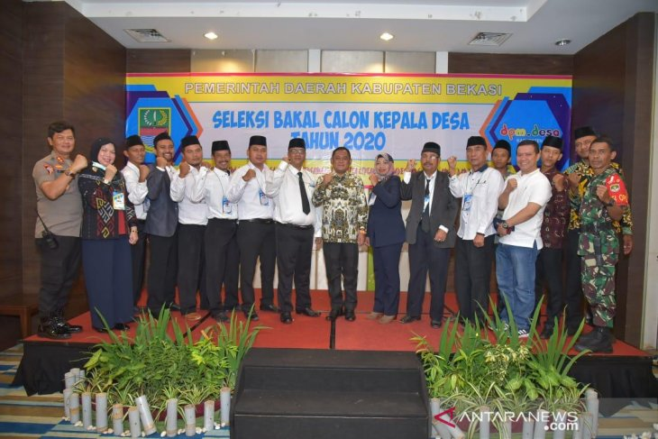Pemkab Bekasi gelar seleksi bakal calon kepala desa tahun 2020