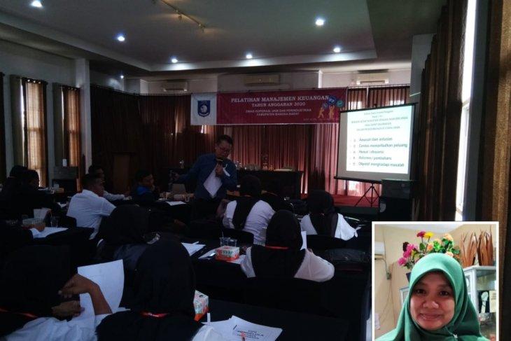 Pemkab Bangka Barat latih UKM tentang manajemen keuangan