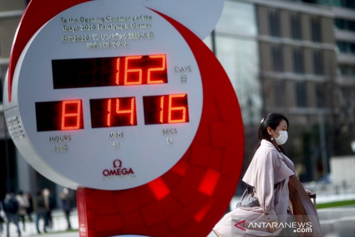 69,9 persen warga Jepang setuju Olimpiade 2020 ditunda