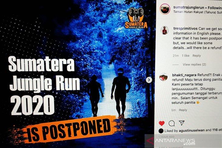 Sumatera Jungle Run di Riau ditunda akibat wabah COVID-19