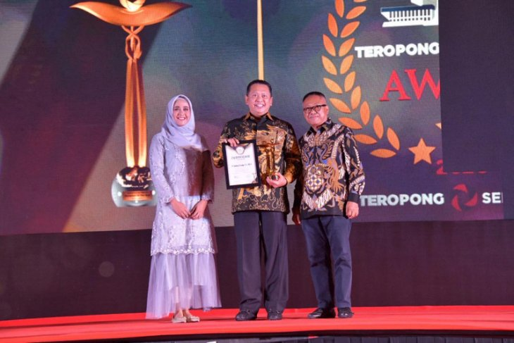 Bambang Soesatyo raih penghargaan Parliament of The Year 2020