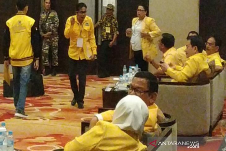 Musda Pemilihan Ketua DPD Partai Golkar Babel ricuh