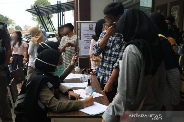 Waduh, ada puluhan pelajar Sukabumi terjaring razia di tempat hiburan