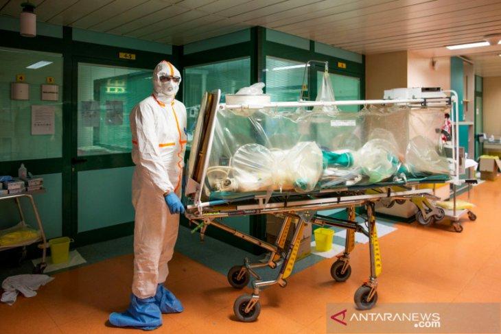 RS kewalahan, angka kematian akibat COVID-19 di Italia salip China