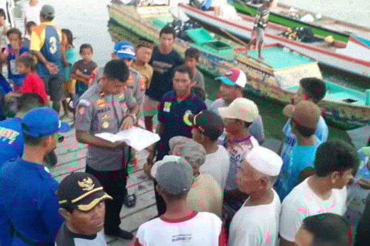 Ditpolairud Polda Maluku Utara amankan pelaku tindak pidana perikanan di Halsel