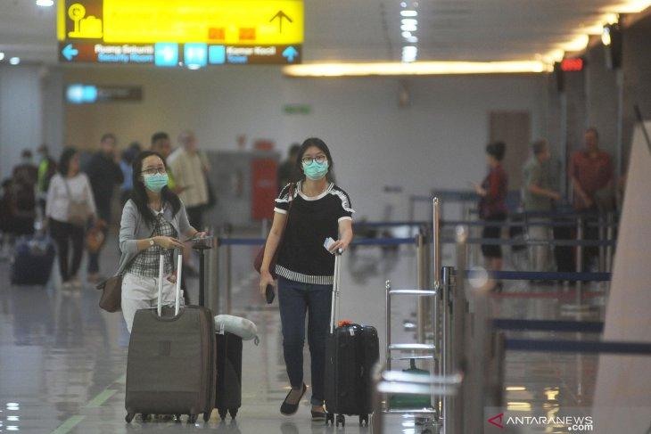 Penumpang internasional di Bandara Bali turun 30,18 persen
