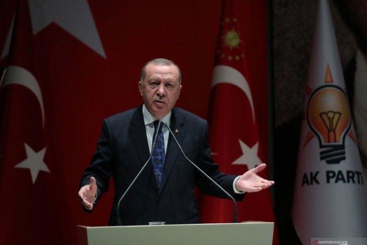 Presiden Erdogan berlakukan lockdown selama liburan Idul Fitri
