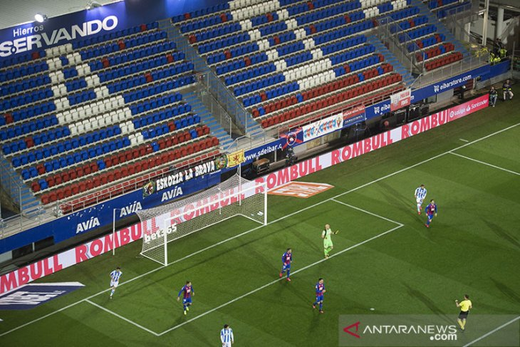 PM Spanyol isyaratkan La Liga dilanjutkan tapi tanpa penonton