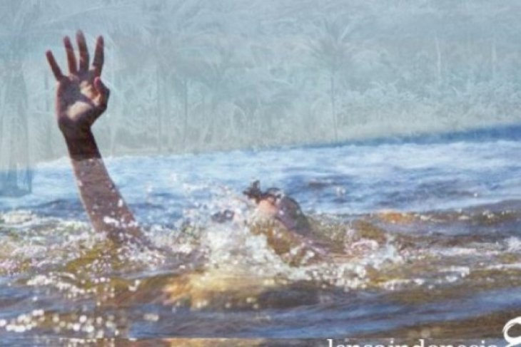 Polisi : Andreas diduga tenggelam saat mandi di tepi sungai Kapuas
