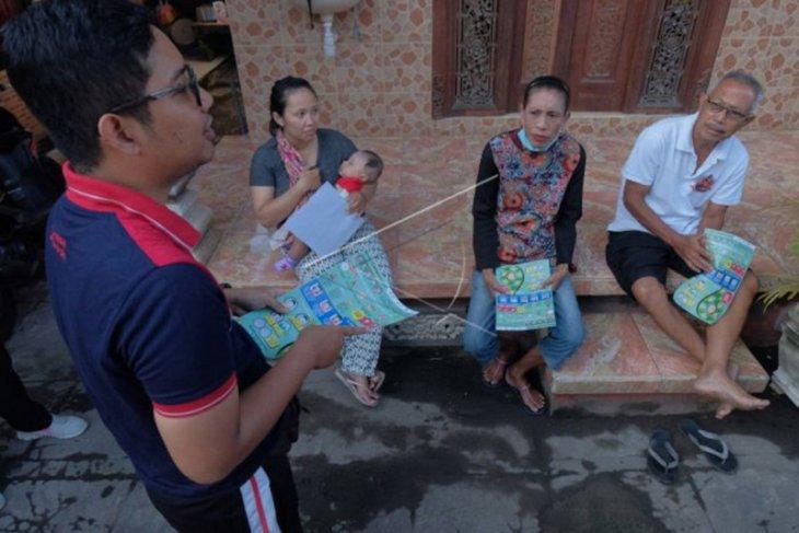 Sosialisasi penanggulangan COVID-19 di Denpasar