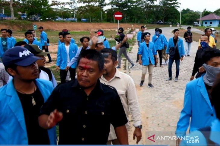 Demo berakhir kericuhan, UBB Bentuk Tim Investigasi Akademik