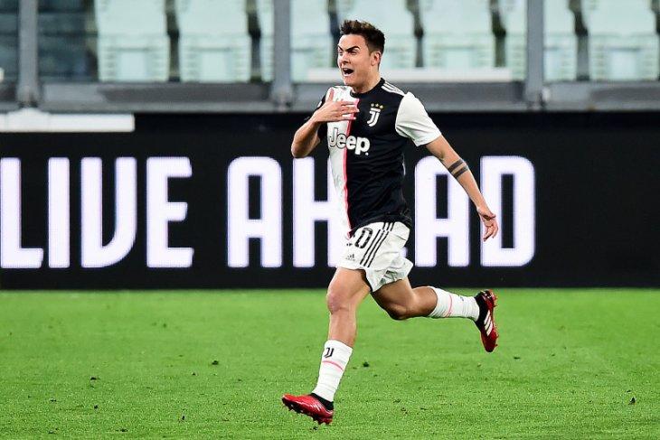 Pemain Juventus Dybala positif terjangkit virus corona