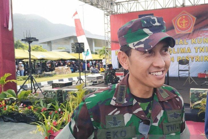 Pesawat TNI ditembak di Pegunungan Bintang