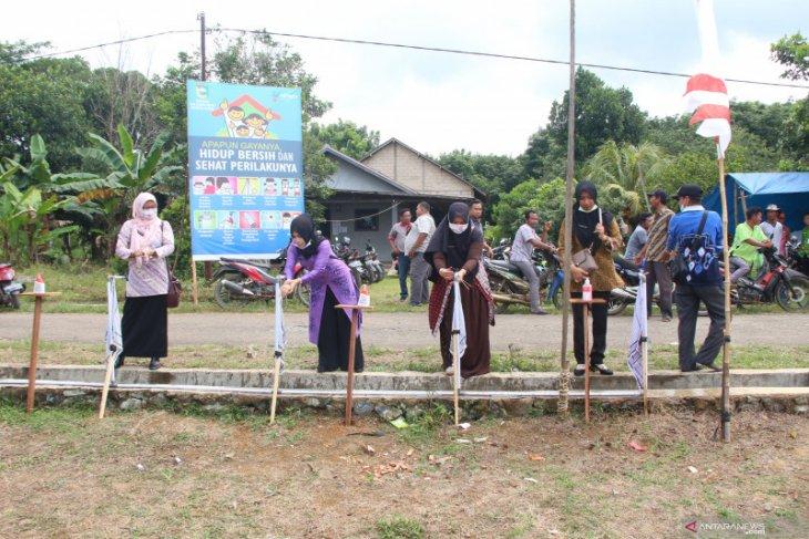 Desa Gunung Makmur sediakan lima fasilitas cuci tangan