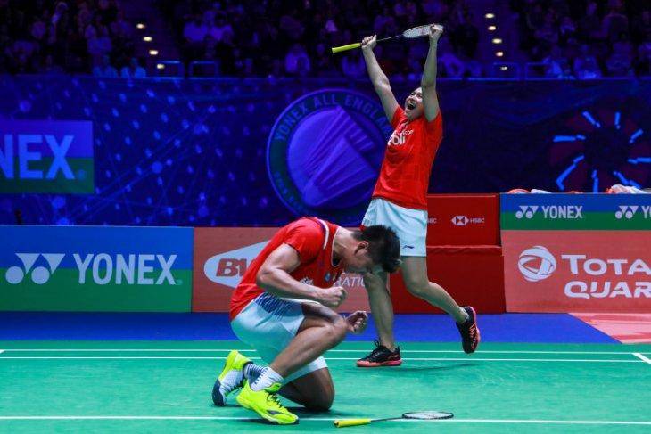 Thailand Open, Ganda campuran Indonesia Praveen/Melati menang mudah atas Jomkoh/Paewsampran