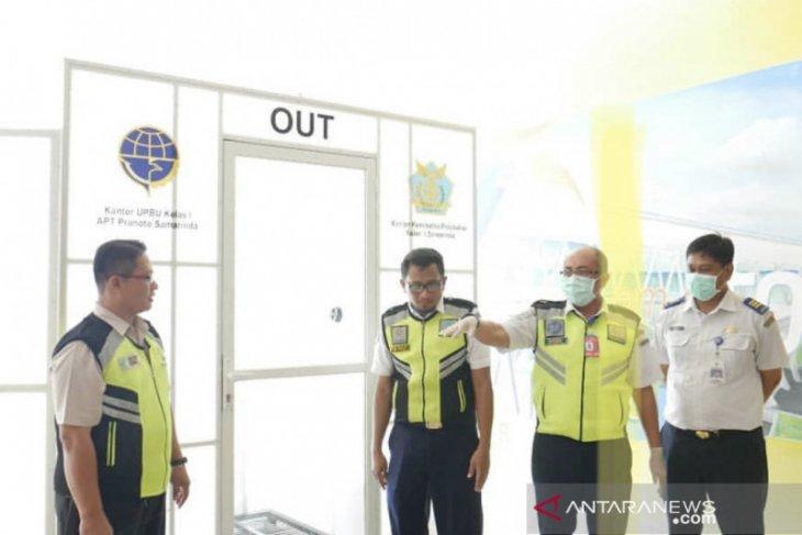 Bandara APT Pronoto Dipasang Bilik Disinfektan